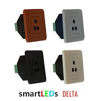 Schodowe, optyczne czujniki odległości i ruchu do LED 12V 200cm - DELTA smartLEDs