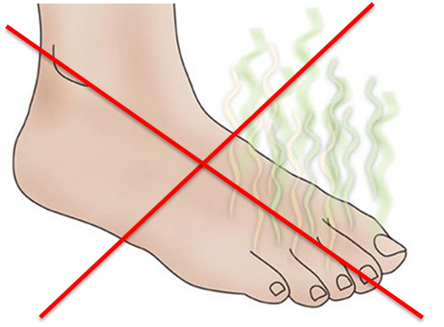 Borico pies acido hongos