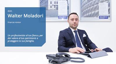 Walter Moladori, consulente finanziario ed esperto in investimenti ad alto rendimento