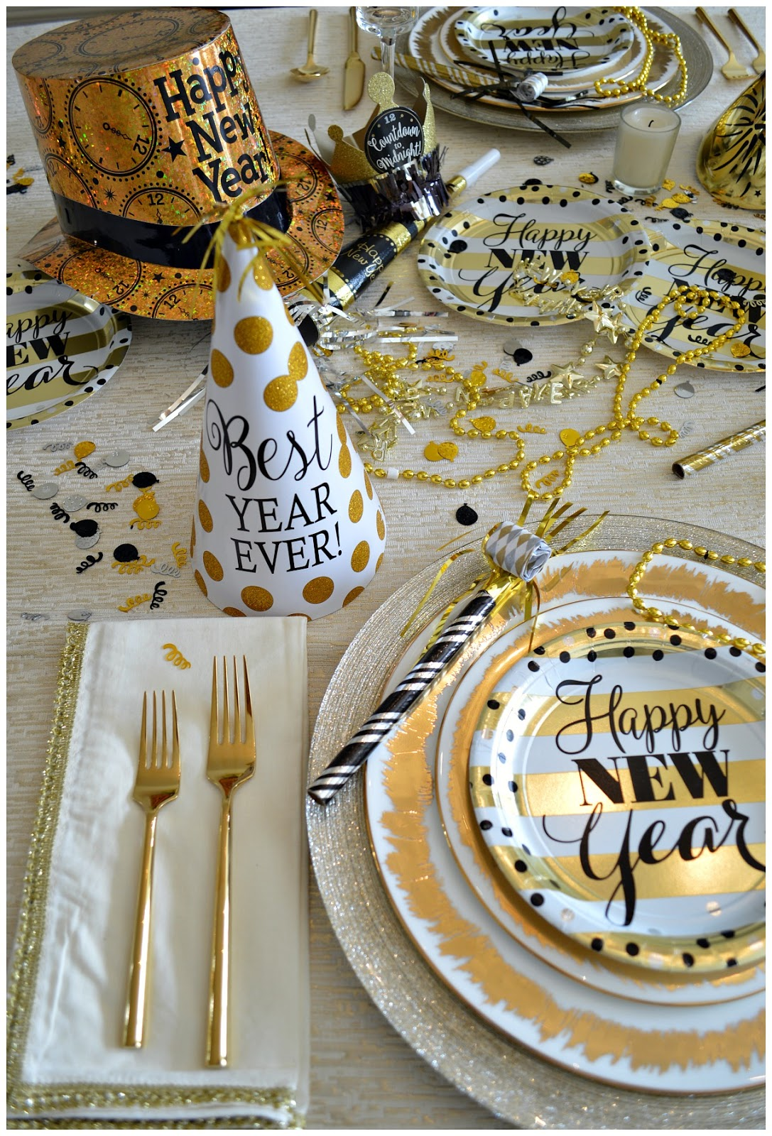Happy New Year Our New Year S Eve Festive Table