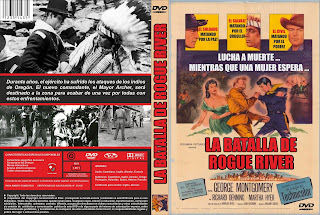 Carátula dvd: La batalla de Rogue River - DescargaCineClasico.Net
