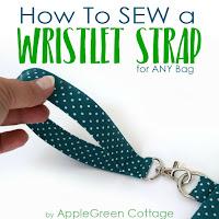 wristlet strap sewing tip