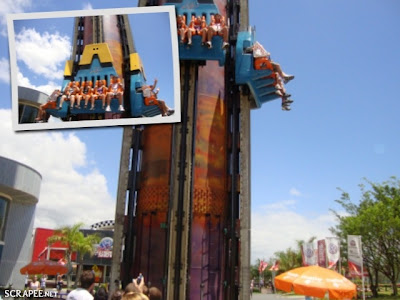 Atração Big Tower no Beto Carrero World