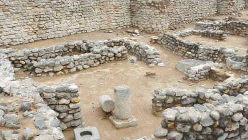 Ancient aqueducts unearthed as Fayd fort reveals its secrets