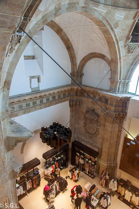 Interior de Zara de Salamanca