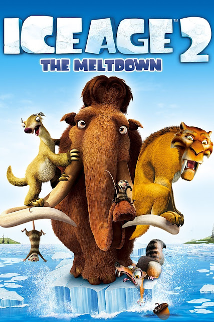 Poster Of Ice Age The Meltdown 2006 720p Hindi BRRip Dual Audio Full Movie Download
