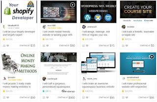 MMO - thiết kế Website trên Fiverr Freelance Network