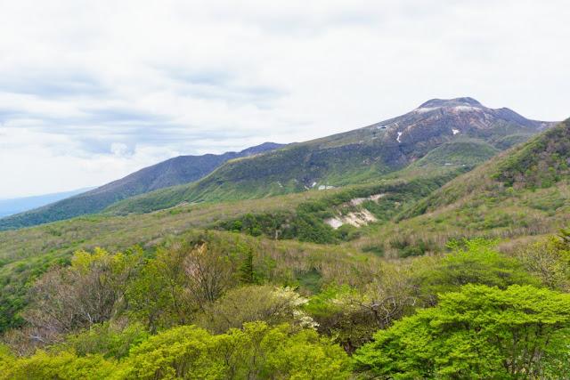 茶臼展望台からの景色~マウントジーンズ那須