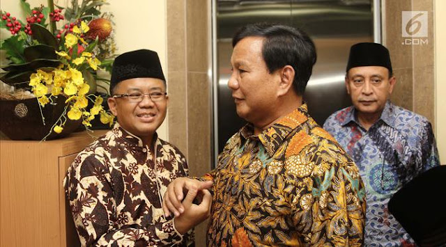 Prabowo akan Temui Ustaz Abdul Somad Besok
