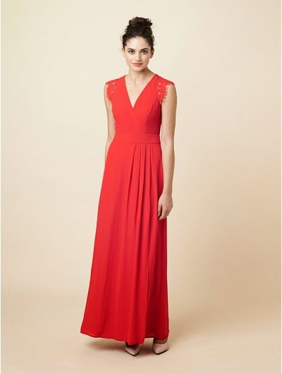 review bridesmaid dresses red, red maxi bridesmaid dress, bold and sexy bridesmaid dress