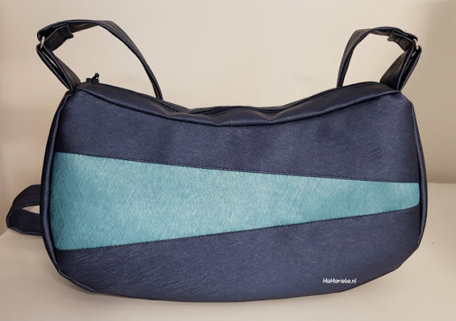 Celeste handtas, mijn tas, skai metallic, swafing