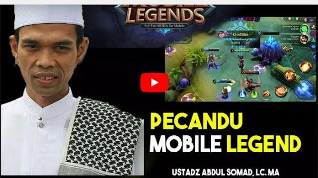 Inilah Dosa Pencandu Game Mobile Legends Menurut Ustadz Abdul Somad