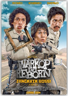 Download BlueRay HD Warkop DKI Reborn : Jangkrik Boss! 2016 Full
