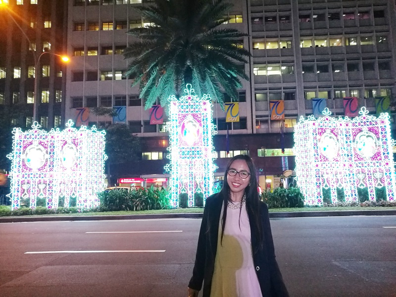 Christmas Season lights installation in Makati City