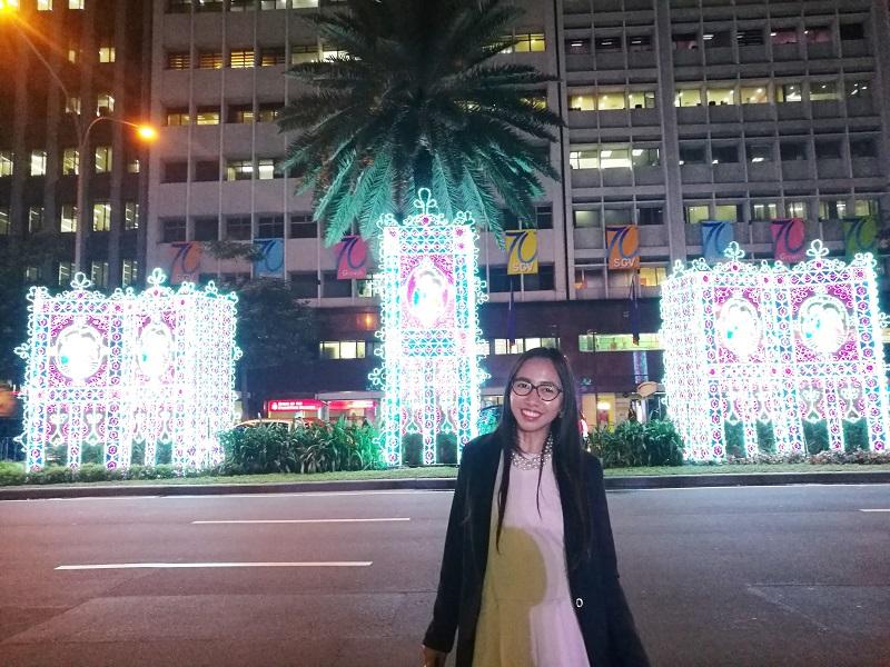 Christmas Season lights installation in Makati City
