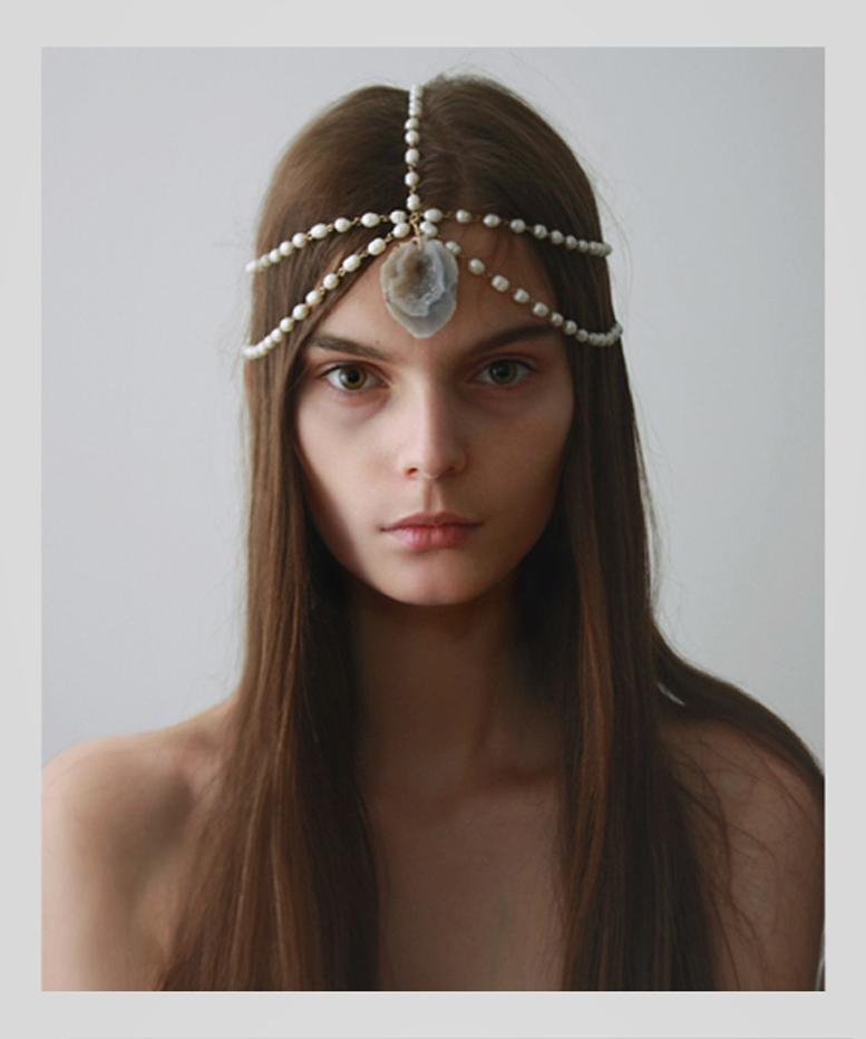 moderno accesorio para el pelo