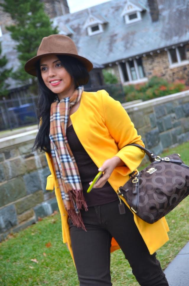 Abrigo Amarillo, Poder Femenino -MariEstilo-Winter Style