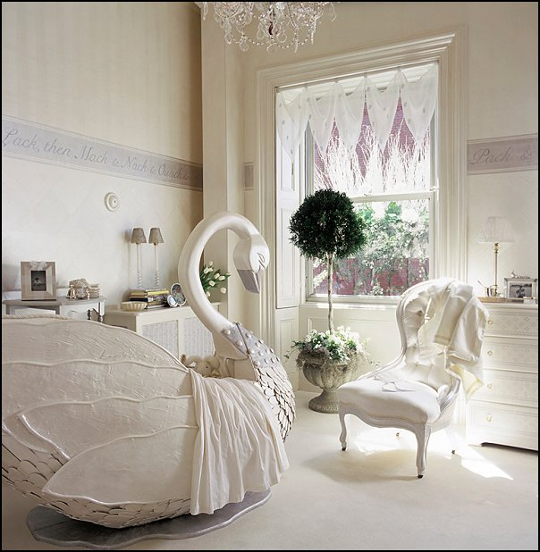 Swan lake nursery decorating ideas ballerina bedrooms