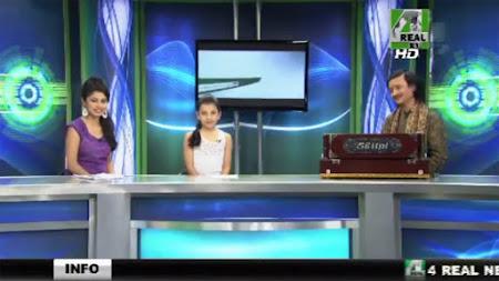Frekuensi siaran 4 Real News di satelit Intelsat 20 Terbaru