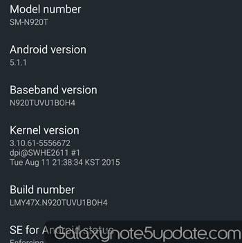 GalaxyNote5Update: T-Mobile Galaxy Note5 Update