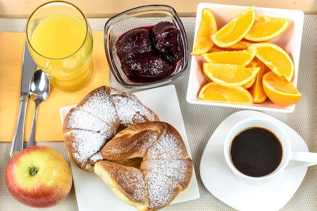 breakfast, food, hotel, pamper