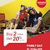 FAMILY DAY WAKAI Promo Buy 2 or more get discount 20% at WAKAI