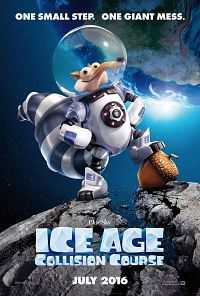 Ice Age Collision Course 2016 Hindi Dubbed CAMRip 300MB