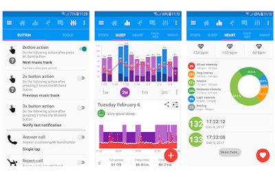 Notify & Fitness for Mi Band - La Migliore applicazione per sfruttare al massimo la vostra MiBand