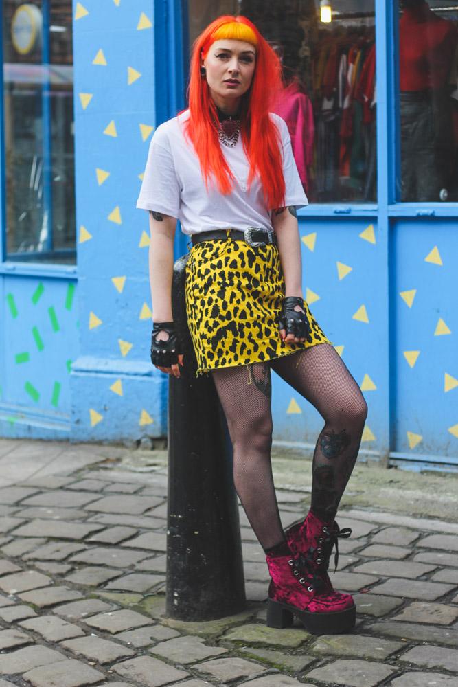 Alternative Fashion Blogger Foxxtailz Styles Missguided Leopard Print Two Piece