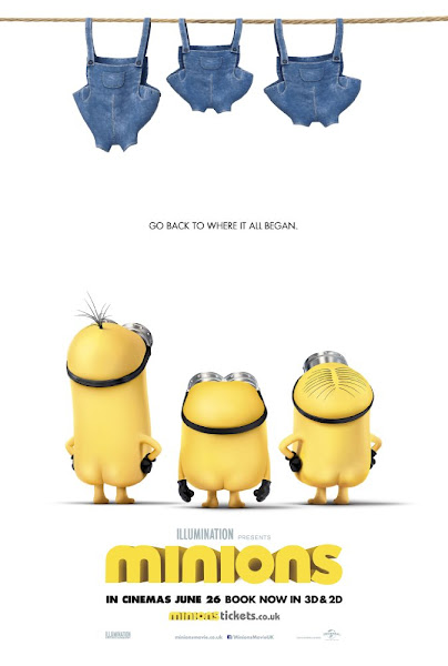 Poster of Minions 2015 Dual Audio 720p BluRay With ESubs Download