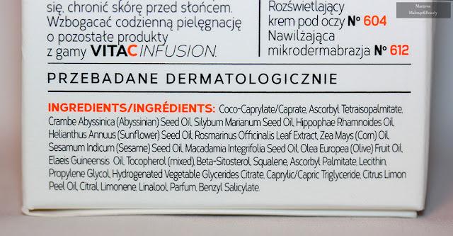 Mincer Pharma VitaCInfusion - przeciwstarzeniowe serum olejkowe skład