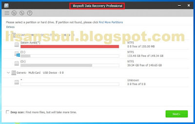 Deleted file recovery pro Full Key