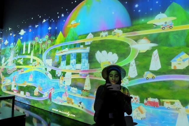 experience in artscience museum