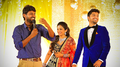 Diya and Karthik reception pictures