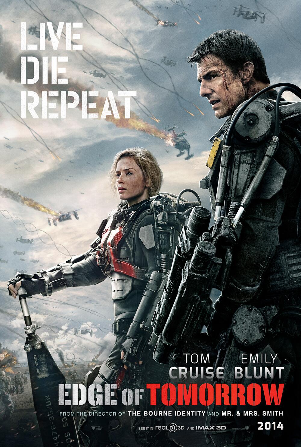 Edge Of Tomorrow Movie Film 2014 - Sinopsis