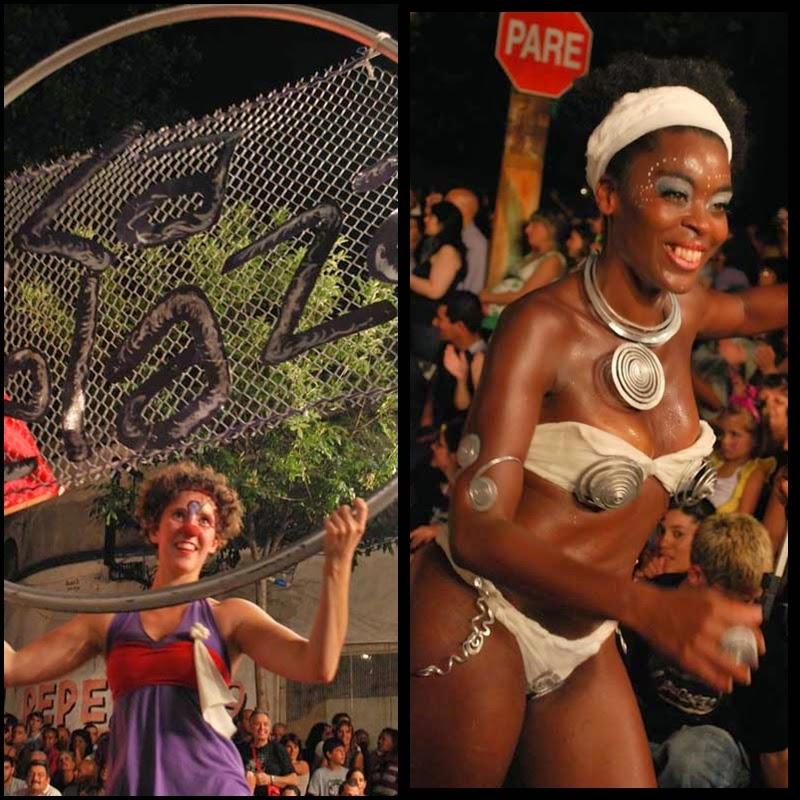 Carnaval. Desfile de Llamadas. Montevideo.La Melaza. 2010.