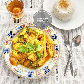 Resep Ayam Woku Sederhana By @Mamaquink