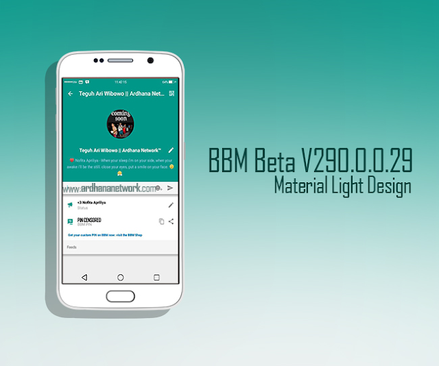 BBM Beta Material Light V290.0.0.29