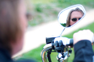 harley davidson  mirror