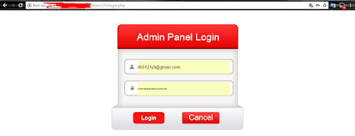 Tutorial Deface Dengan Cara Admin Weak Password / Admin Poor Password