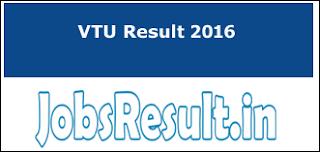 VTU Result 2016