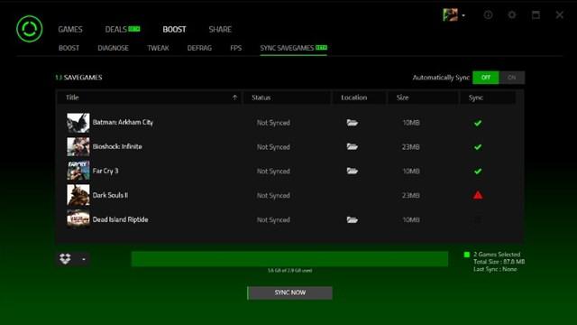 Download Game Booster Razer Cortex Screenshots