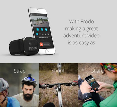 Frodo smart wearable adventure camera