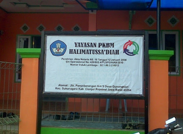 PKBM Halimatussa'diah Sukanagara Cianjur