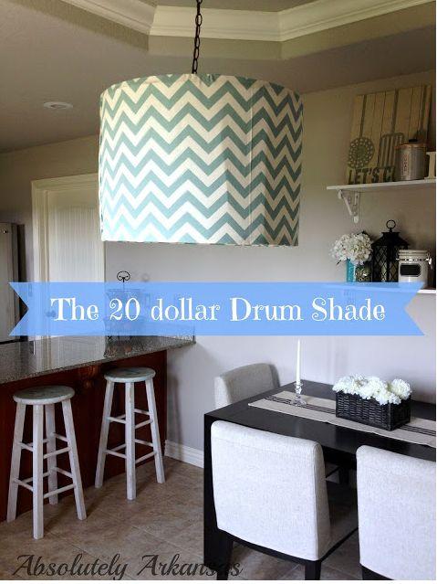 $20 DIY Drum Shade