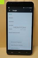 "Info Google: HOMTOM HT30 3G Smartphone 5.5""Android 6.0 MT6580 Quad Core 1.3GHz Mobile Phone 1GB RAM 8GB ROM Smart Gestures Wake Gestures Dual SIM OTA GPS WIFI,Weiß"