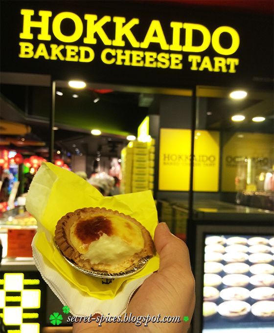 Durian Hokkaido Baked Cheese Tart - the latest delicious King of Fruits fillings