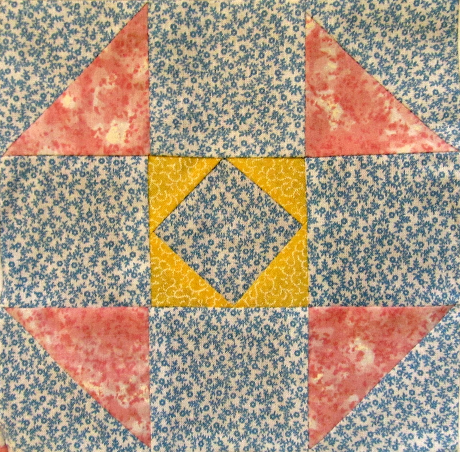 The Quilt La S Simple Triangle Quilt Block Pattern Free