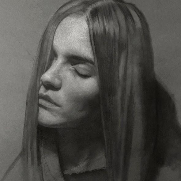 12-Unknown-2-David-Kassan-Charcoal-Portrait-Drawings-of-Ordinary-People-www-designstack-co