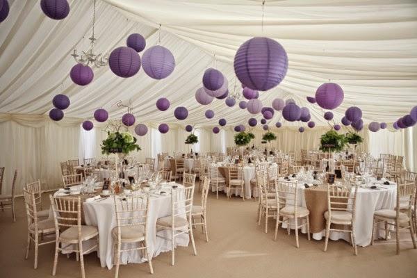 Modern wedding tent decor verizonringtones modern wedding tent decorations ideas with purple ballon junglespirit Gallery